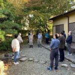 実習庭園の植樹奉仕を開催しました。